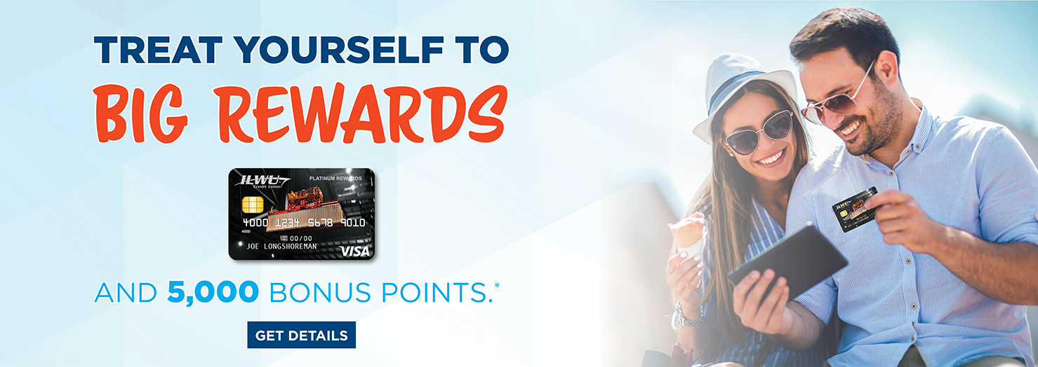 Treat Yourself to BIG REWARDS and 5,000 Bonus Points.