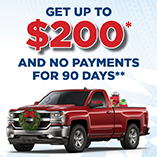 Refinance your auto loan from another lender and we will pay you up to $200